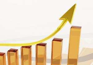 Wachstum Steigerung Dopplung nach oben steigern vermehren