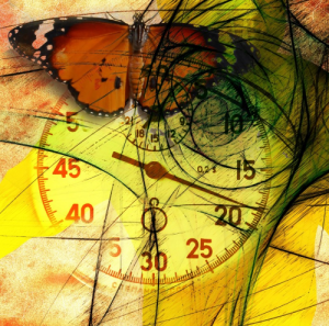 Zeit nehmen Geduld Hingabe Konsequenz Schritt für Schritt Lauf der Dinge