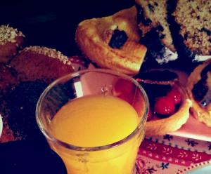 Frühstück Dienst Neukunden Angebot Platzierung