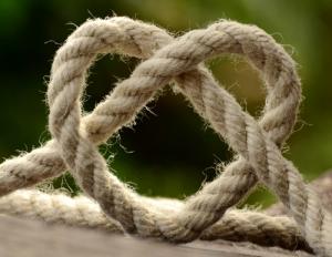 tragfähig Seilschaft Verbindung Mindset care and share durchschlagend angesprochen berührt Elan online positioning