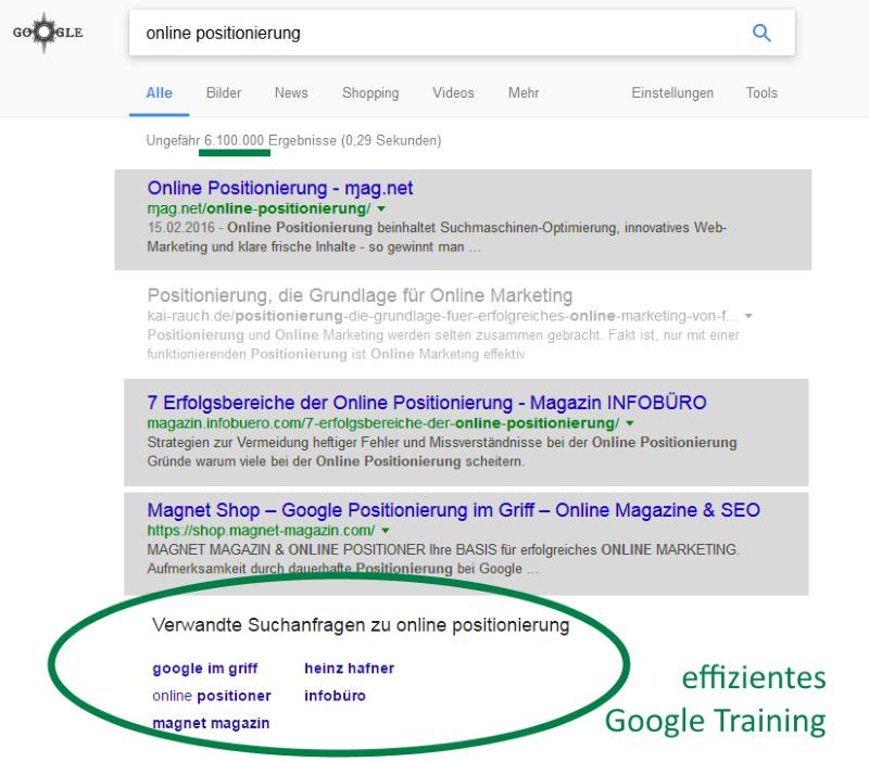 Online Positionierung in Perfektion INFOBÜRO Hafner