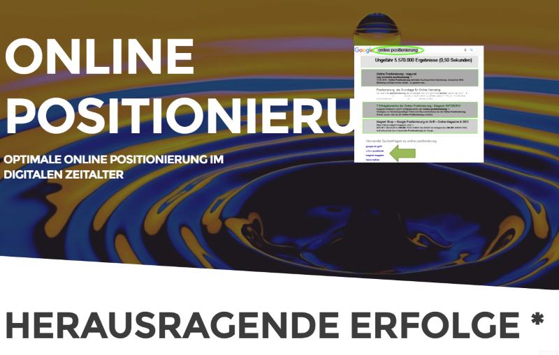 Online Positionierung mit dem INFOBÜRO liefert herausragende Erfolge
