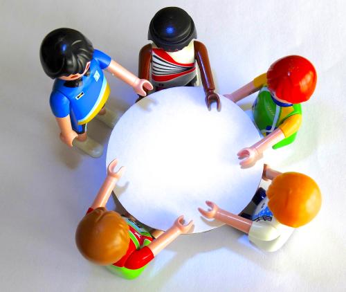 gruppenerlebnis austausch unter gleichgesinnten