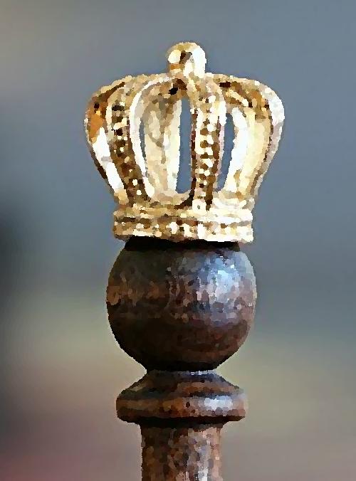 krone könig künstlich elfenbeinturm