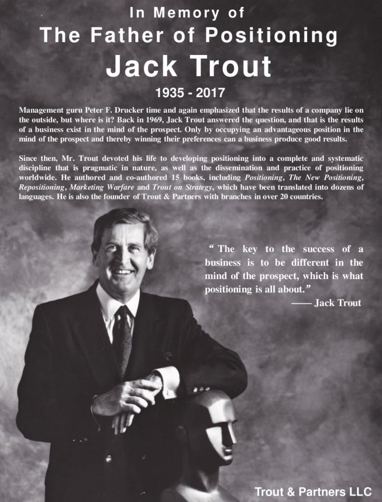 Jack Trout Memorial pdf